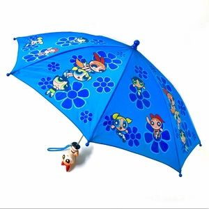 Powerpuff Girls blue umbrella vintage 90s cartoon